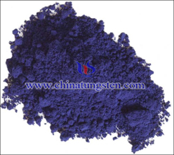 violet tungsten oxide photo